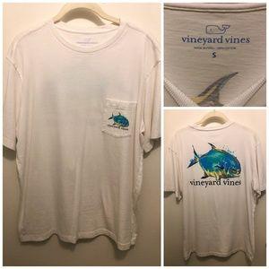 Vineyard Vines Men's T-Shirt (S, White)